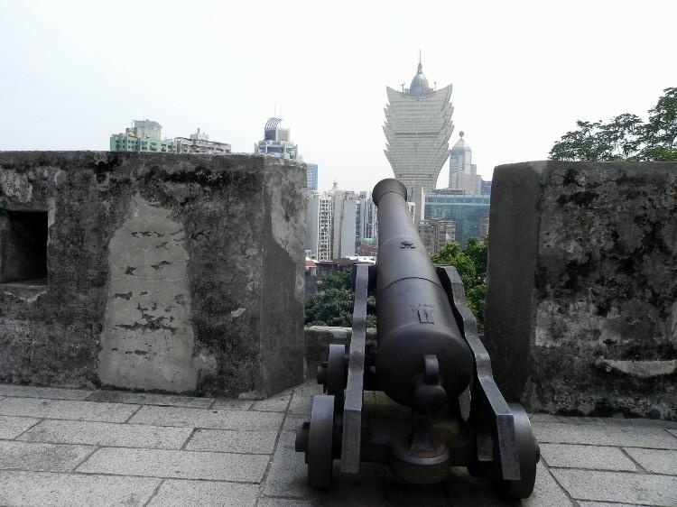 澳门大炮台