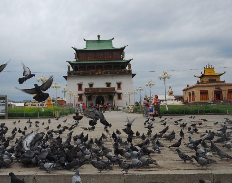 旅游攻略 > 【全球行·蒙古国】肯特省    温都尔汗是蒙古东部各省