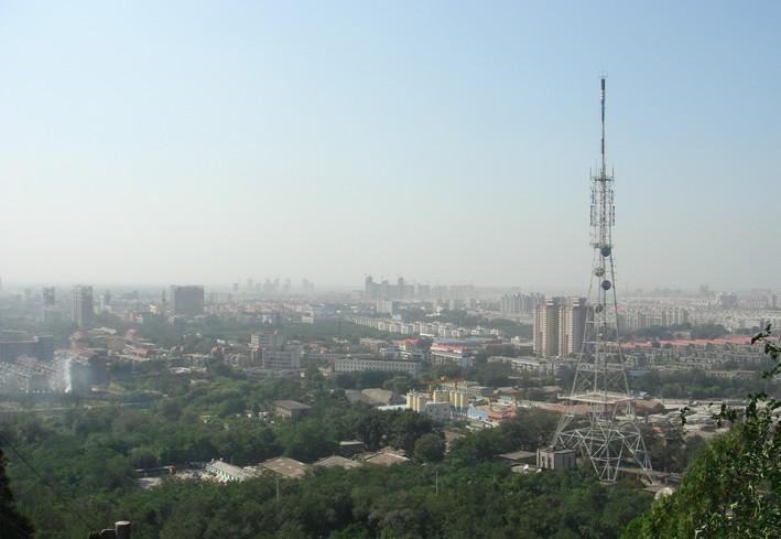 大城山公园位于河北唐山市中心
