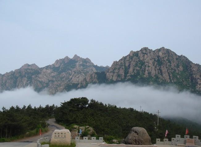 荣成槎山风景区由正常花岗岩组成