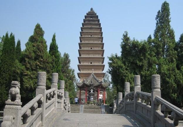 齐云塔前身为白马寺的释迦如来舍利塔