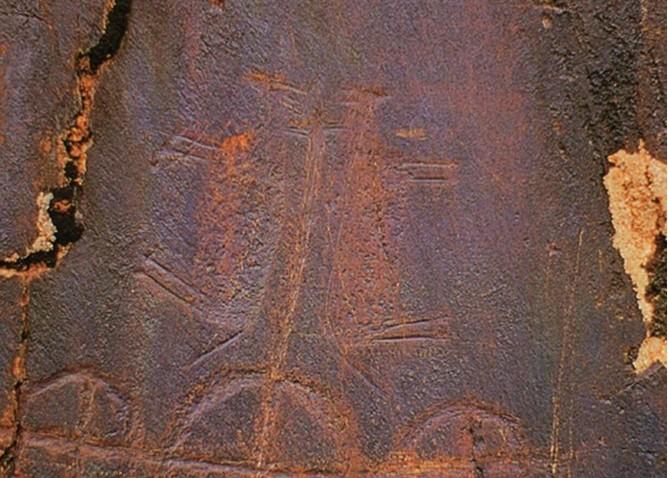 古藏文木牍,彩绘木片和