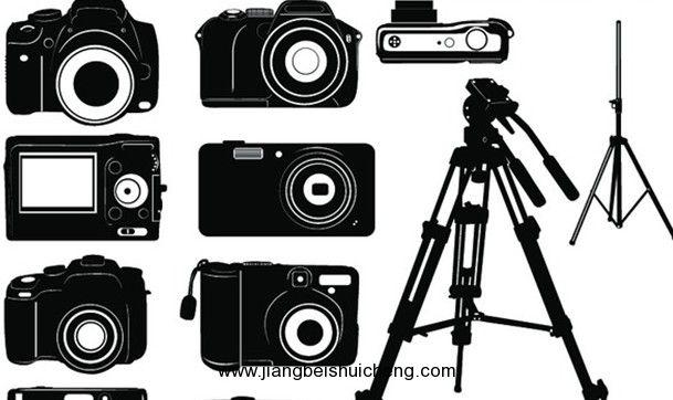 定焦镜头,闪光灯,各种用途滤色镜,相机包,照相机脚架,影室闪光灯,柔光