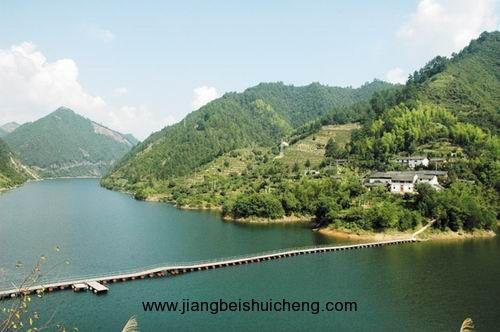 黄山丰乐湖风景区