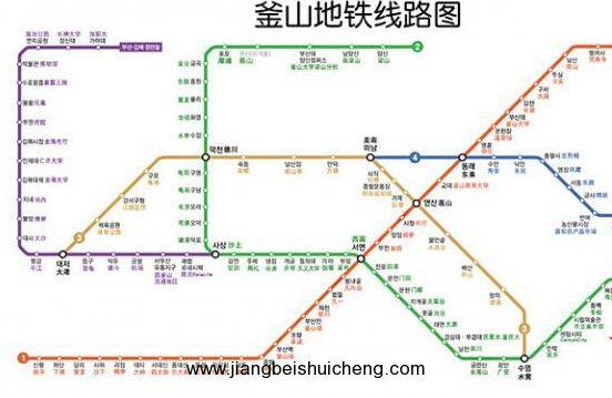 当从村庄小巴下车,首先从甘川文化村向导处买一份地图(一份2000韩币