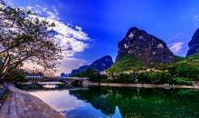 桂林+遇龙河+印象刘三姐+世外桃源+银子岩+古东瀑布+象鼻山双飞五日游