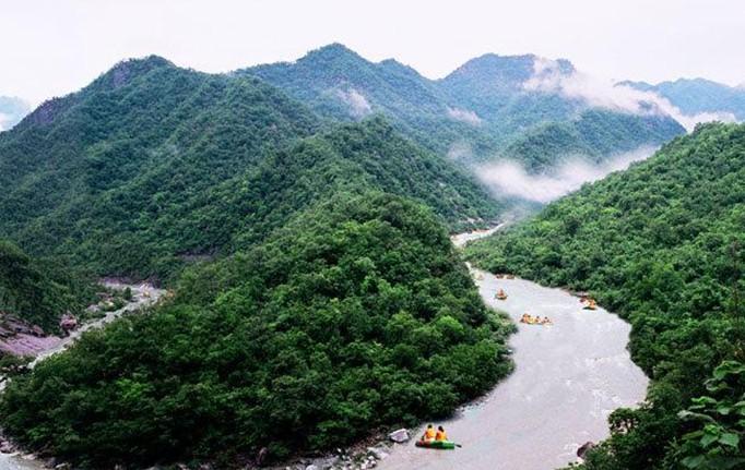 千岛湖龙潭峡谷